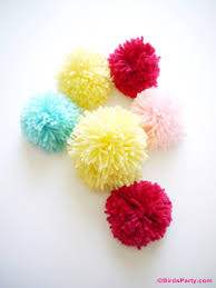 easy diy pompom gifts kids can craft for mom