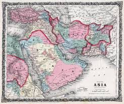 Mid East Map The British Empire And The Middle East Maps
