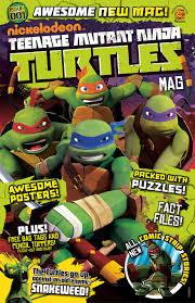 teenage mutant ninja turtles magazine issue 1 otter press