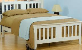 4ft Wooden Bed Frame Awesome Sweet Dreams Kestrel Bed 4ft Junior White Frame