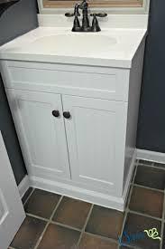 Built In Bathroom Vanity Built In Bathroom Vanity Diy Sypsie Designs