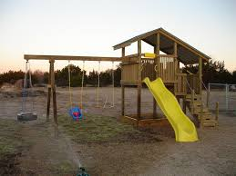 homemade backyard playsets outdoor furniture design and ideas