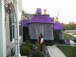static new 2008 addition airblown haunted house