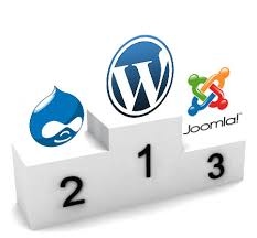 Wordpress Drupal y Joomla