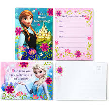 hallmark disney frozen invitations with envelopes and thank