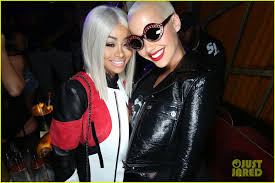 nightingale hollywood blac chyna and amber rose at sbe s nightingale nightclub in