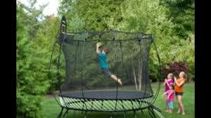 skywalker trampolines 15 feet jump n u0027 dunk trampoline with safety