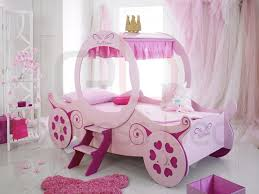 Single Girls Bed by Princess Carriage Girls Novelty Bed
