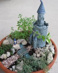 fairy garden castle fairy garden i fairy garden broken pots