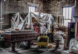 Seeking Trailer Swipe Left Photos Abandoned Trap Funeral Home