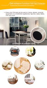 Sofa Felt Pads by Trade Assurance Self Adhesive Felt Pads Chair Leg Floor Protection