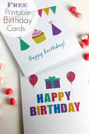 finest free printable birthday cards for adults ideas best