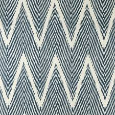 fabric by the yard cotton zig zag navy williams sonoma