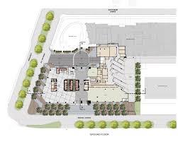 Building Site Plan Brickell Uli Case Studies Parking Building Floor Plan Notable