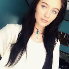 Dark Hair Light Skin Pretty Girls With Black Hair And Blue Eyes Makeup For Black Hair
