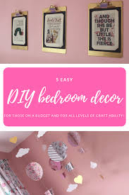 bedroom decorating ideas diy 5 easy diy kids bedroom decor ideas the two darlings
