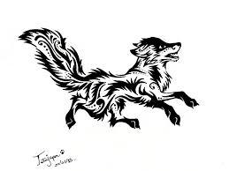 teumessian fox tribal by tatujapa on deviantart