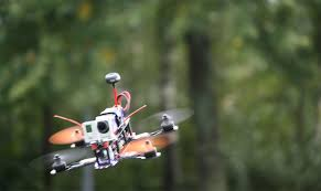 drones and wireless video data respons