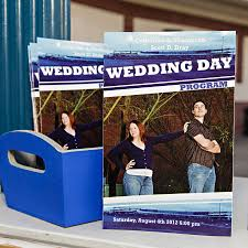 magazine wedding programs baseball wedding program wedding programs baseball wedding