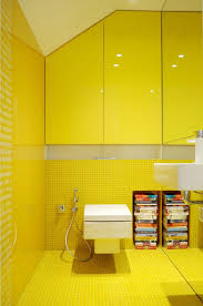 adorable yellow bathroom tiles ways to color into your design