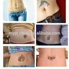 custom printed female belly button tattoos buy star tattoo