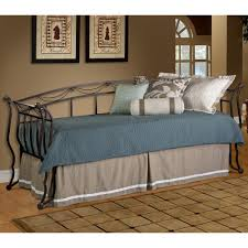 Wrought Iron Daybed Camelot Iron Daybed In Black Gold Humble Abode