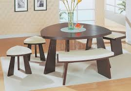 chocolate dining room table modern dinette set with triangle dark chocolate finish top triangle