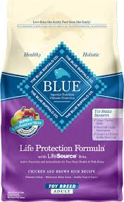 blue buffalo life protection formula toy breed chicken