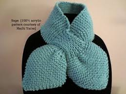 knitting pattern bow knot scarf ascot bow tie scarf knit pattern knitting pinterest tie
