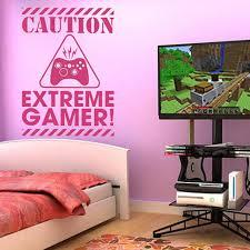 chambre gamer decals stickers gamer decal sticker gamer birthday gift vinyl