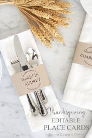 best 25 thanksgiving place cards ideas on