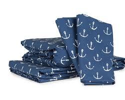 Anchor Comforter Sheet Set Anchors By David Hart Thread Experiment