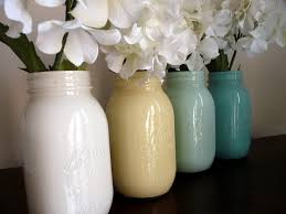 Creative Flower Vases Creative Idea Great Mason Jar Vases Ideas For White Flowers