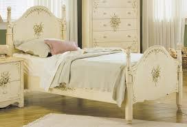 hand painted bedroom furniture homelegance cassidy twin bed 822 1 homelegancefurnitureonline com