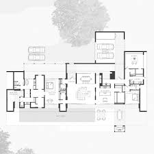 Villa Tugendhat Floor Plan by Gallery Of Lakehouse Residence Max Strang Architecture 15
