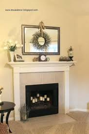 fireplace colourful mantle over fireplace for living decoration