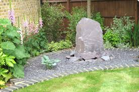 Rock Garden With Water Feature Wall Design Small Water Features Small Garden