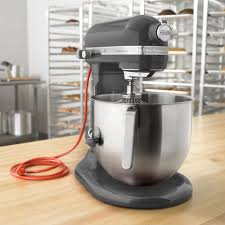 Kitchenaid P by Pewter Kitchenaid 8 Qt Commercial Mixer Ksm8990dp Webstaurantstore