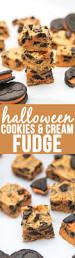 halloween cookies and cream fudge lmldfood