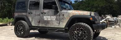 jeep wrangler custom hunter signs jeep wrangler rust wrap design skepple inc