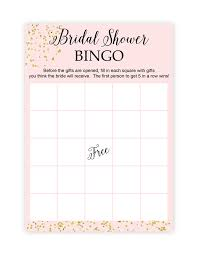 bridal shower gift bingo free printable bridal shower bingo
