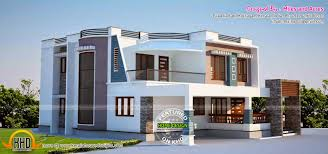 contemporary home plans first floor elevation with contemporary house plans kerala home