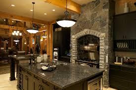 Luxury Kitchen Cabinets Granite Luxury Kitchen Beautiful Home Design