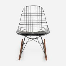 wire chairs seating modernica