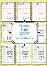 free sight word read and write practice pages print these