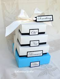 something new something something blue something borrowed something blue wedding gift boxes something something