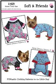 clothes sewing pattern 1749 sweet dreams pajama for the