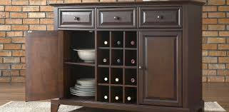 sideboard cabinet with wine storage luxurious kitchen buffet cabinet hutch roselawnluran small