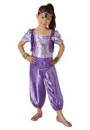 genie halloween costumes nickelodeon shimmer genie costume escapade uk