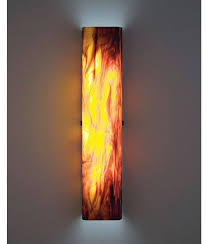 Glass Wall Sconce Wpt Channel Glass Wall Sconce Artisan Crafted Lighting
